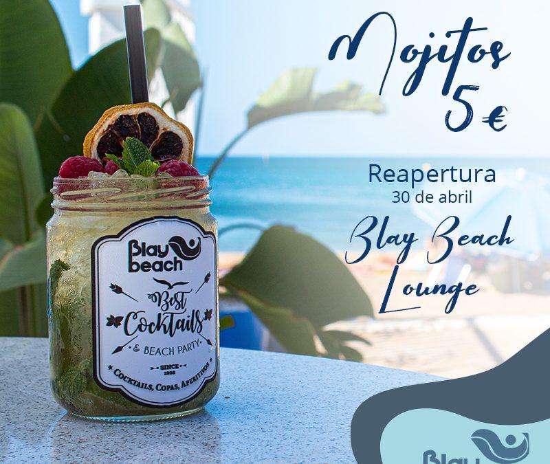 Reapertura del Blay Beach Lounge con oferta